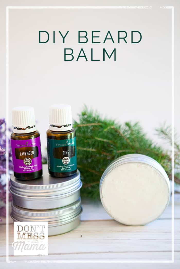 This DIY Beard Balm helps to nourish the skin and can be used to style beards (and keep stray hairs in check).