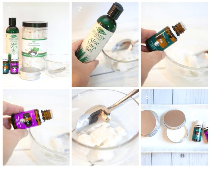 Step by step tutorial on how to make DIY beard balm