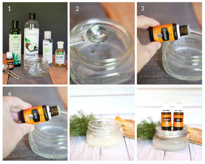 DIY Shave Gel - easy tutorial to make your own shaving gel - DontMesswithMama.com