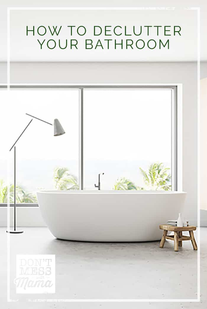 Want to declutter your bathroom? Here are five easy ways you can minimize and organize a beautiful space your whole family will love.