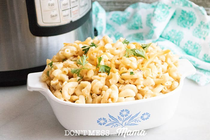 Gluten-Free Instant Pot Mac and Cheese - DontMesswithMama.com