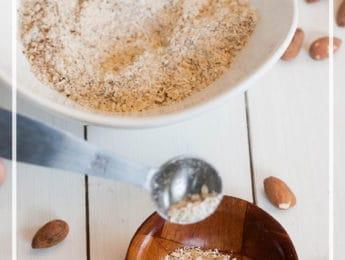 DIY Oatmeal Almond Facial Scrub - exfoliating scrub for blackheads - DontMesswithMama.com