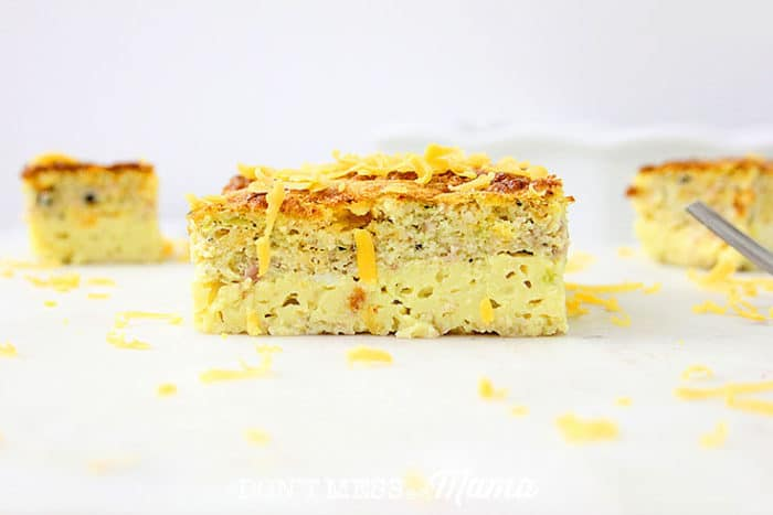 The Easiest Crustless Gluten-Free Quiche Ever - delicious and nutritious breakfast rich with protein - DontMesswithMama.com