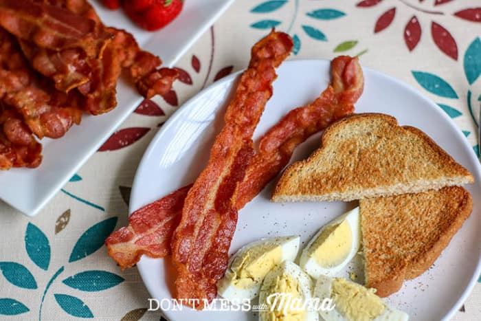Crispy Air Fryer Bacon (Easy and Delicious) - Don't Mess with Mama