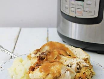 Instant Pot Turkey and Gravy (Gluten-Free)