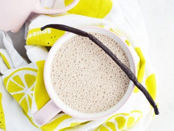 Vanilla Chai Latte - make this coffee house drink at home with just a few ingredients - Don't Mess with Mama