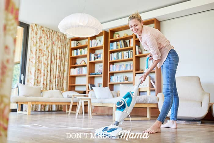 Spring Cleaning Checklist Room by Room - deep clean your home in a day with this handy checklist - Don't Mess with Mama