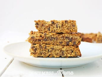 stack of granola bars
