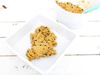granola on a dish