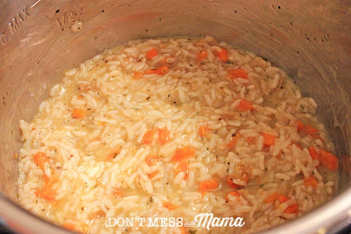 making risotto in an instant pot
