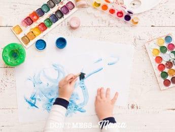 6 Ways to Organize and Declutter Kids' Artwork