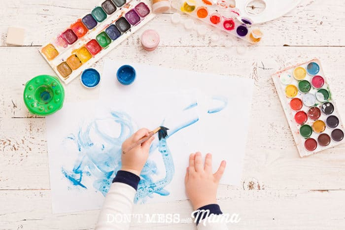 6 Ways to Organize and Declutter Kids' Artwork - Don't Mess with Mama