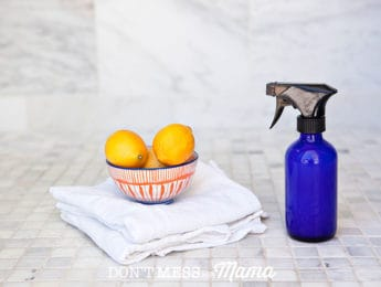 DIY Daily Shower Cleaning Spray