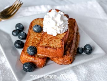 Low-Carb Keto French Toast