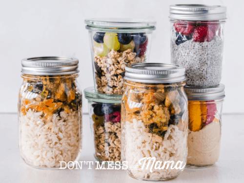 6 Plastic Free Food Storage Ideas