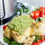 Instant Pot Pesto Chicken Pin