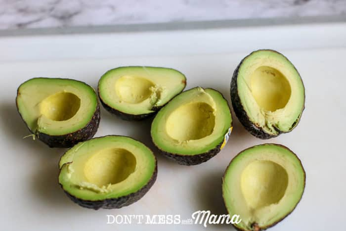 selection of ripe avocados
